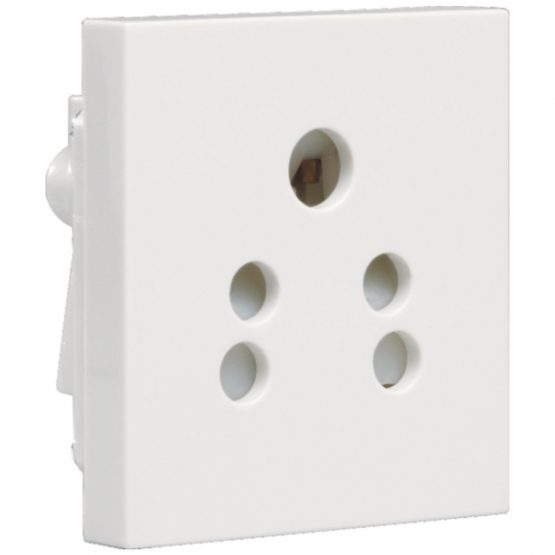 Athena Socket 6A 5 Pin Shuttered Socket