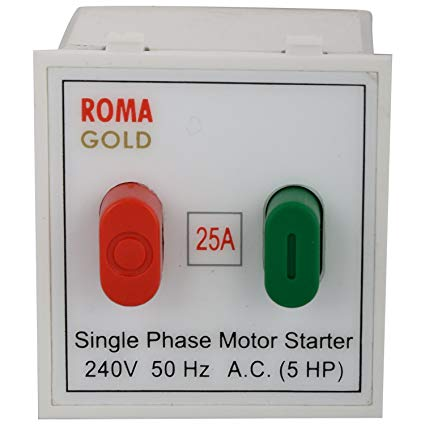 Anchor Roma 20405 25A Motor Starter Switch
