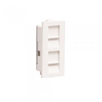 Athena RJ-11 2 Gang Telephone Socket 1M