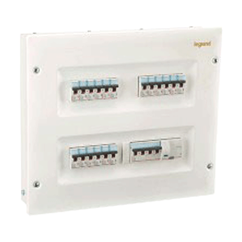 L&T DBTPN004SD IP30 4 Way Single Door Distribution Box