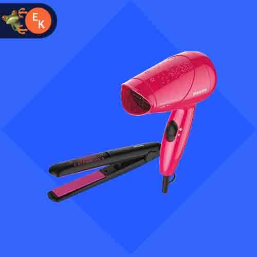 Philips Hair Dryer And Straightener Combo HP8643/46 - electrickharido.com