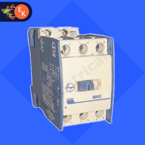 L&T MNX-9 Contactor 220V AC, 3 Pole