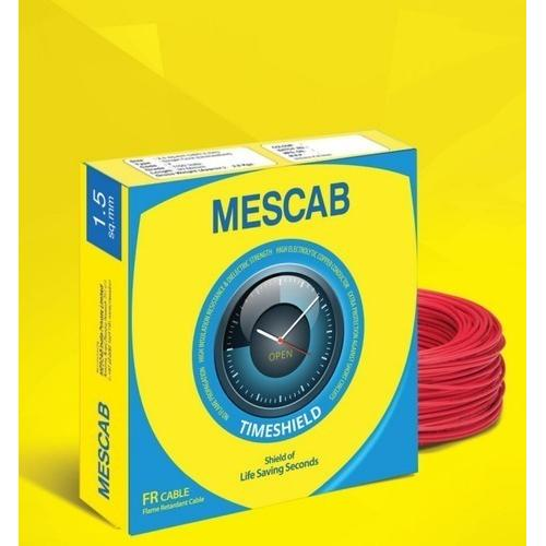 Mescab wire Fire Resistant 180 Mtrs 6.0 Sq mm