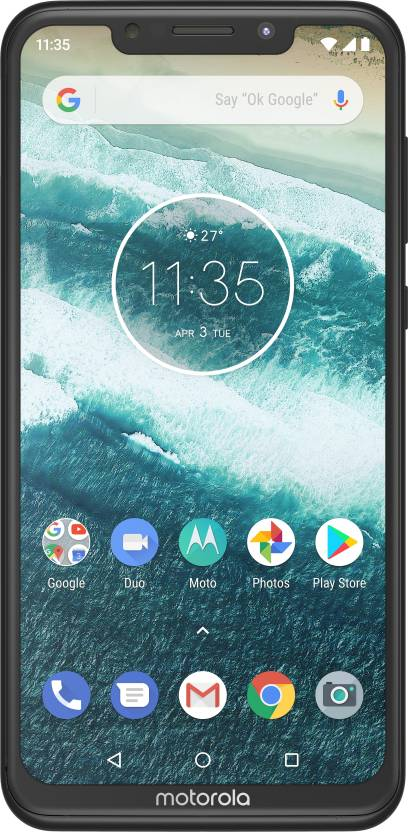 Motorola One Power (Black, 64 GB) (4 GB RAM) - electrickharido.com