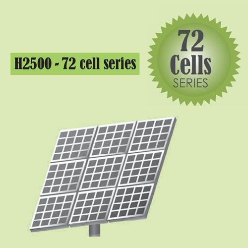H2500 Solar 72 Cells Series